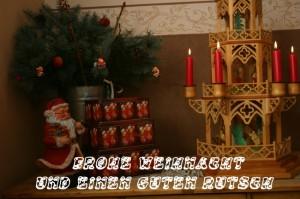 Frohe Weihnacht und einen gutenRutsch